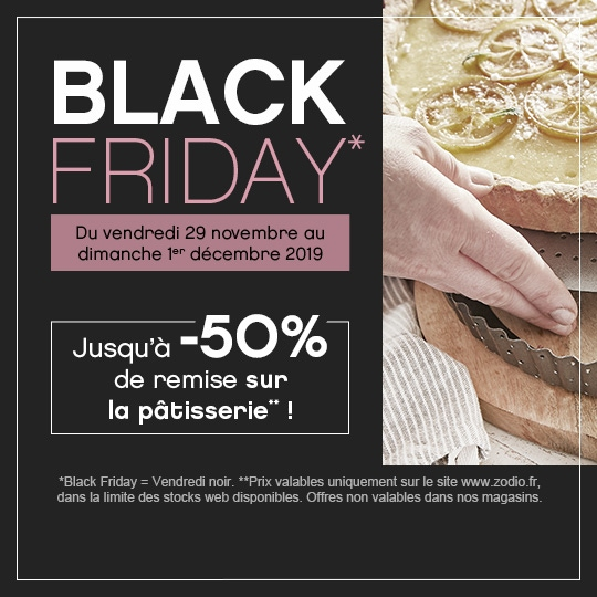 Pâtisserie Black Friday - Zôdio